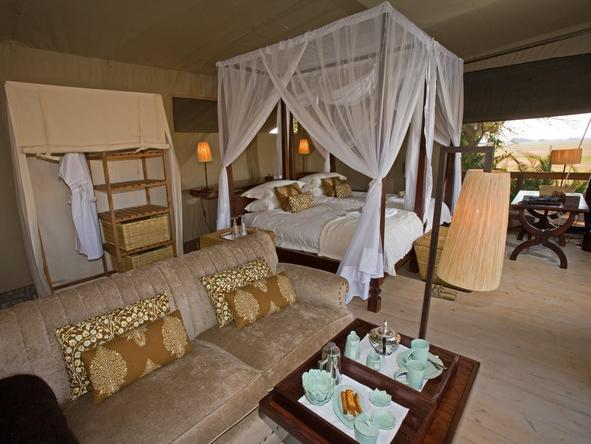 Shumba Bush Camp - Bedroom