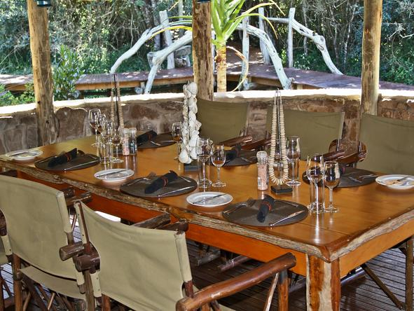 Sibuya Forest Camp - Dining
