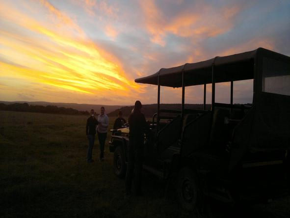 Sibuya River Camp - Sunset