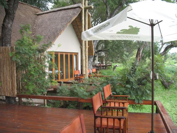 Simbavati River Lodge - Private Deck