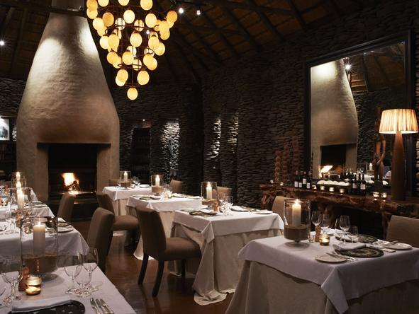 Singita Boulders Lodge - Restaurant