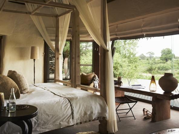 Singita Boulders Lodge -Bedroom