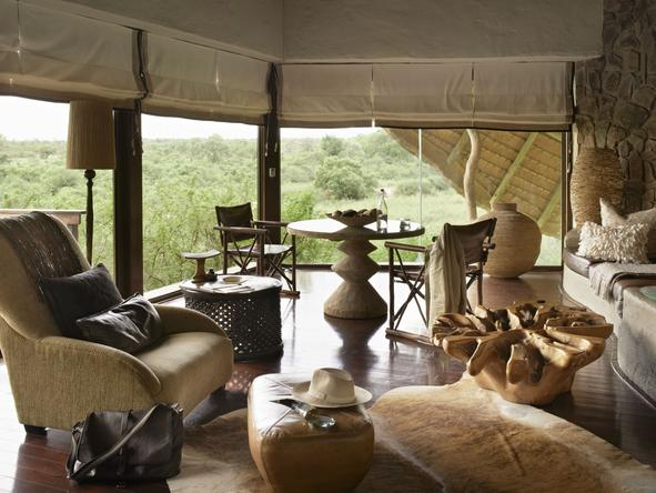Singita Boulders Lodge - Lounge3