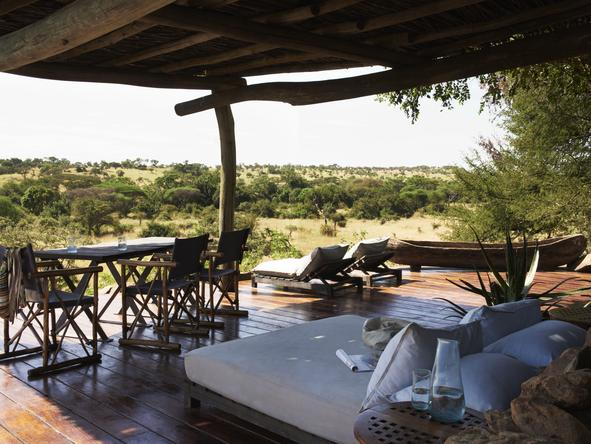 Singita Faru Faru River Lodge - Lounge