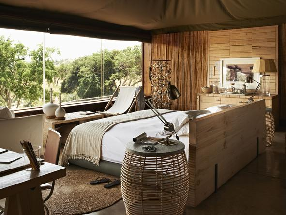 Singita Faru Faru River Lodge - Bedroom