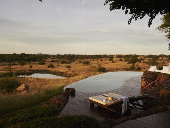 Singita Faru Faru River Lodge - Deck
