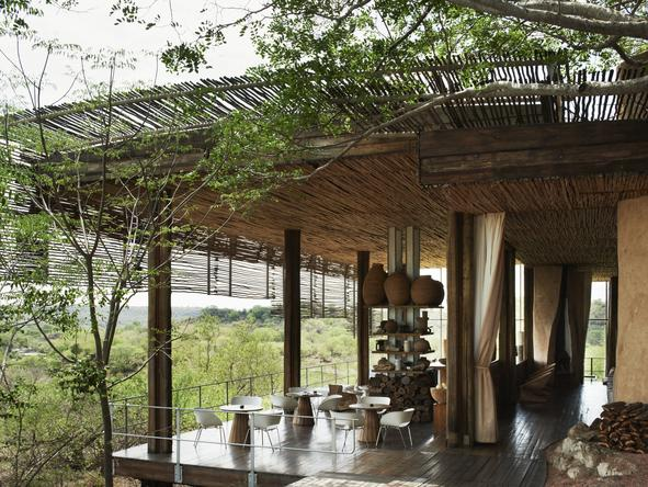 Singita Lebombo Lodge - Deck
