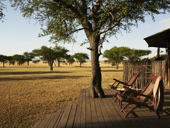 Singita Sabora Tented Camp - Private Deck