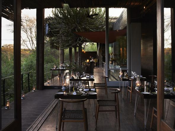 Singita Sweni Lodge - Dining