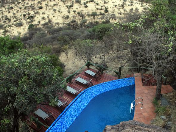 Soroi Serengeti Lodge - pool
