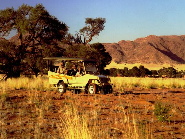 Sossusvlei Lodge - game drive