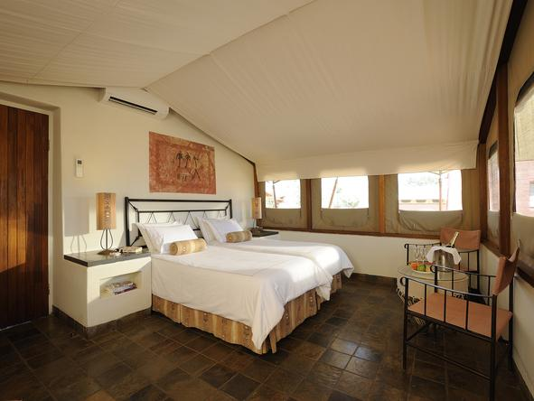 Sossusvlei Lodge - bedroom
