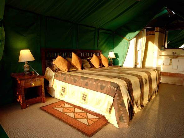 Sweetwaters Tented Camp - Bedroom1