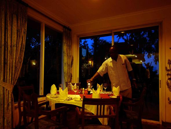 Sweetwaters Tented Camp - Dining