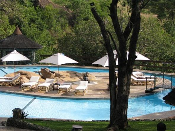 Tarangire Sopa Lodge - Pool
