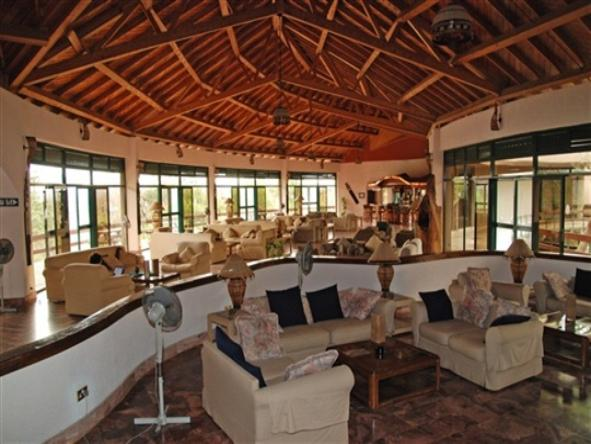 Tarangire Sopa Lodge - Lounge