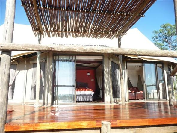 The Elephant Camp - Private Deck