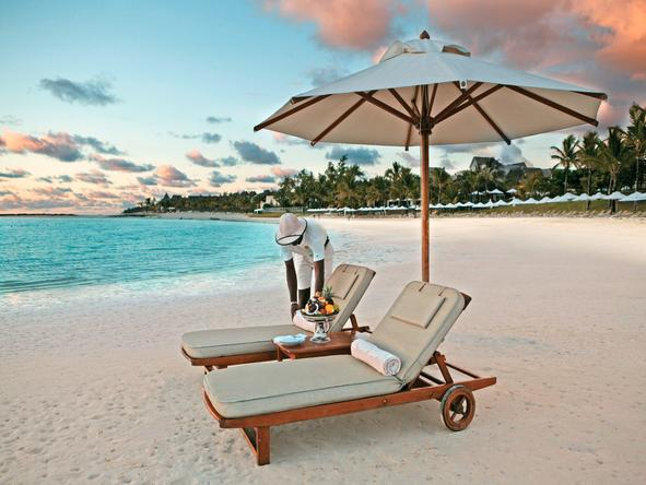 The Residence Mauritius - beach honeymoon