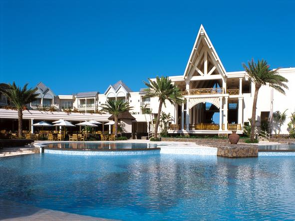 The Residence Mauritius - exterior view of main resort