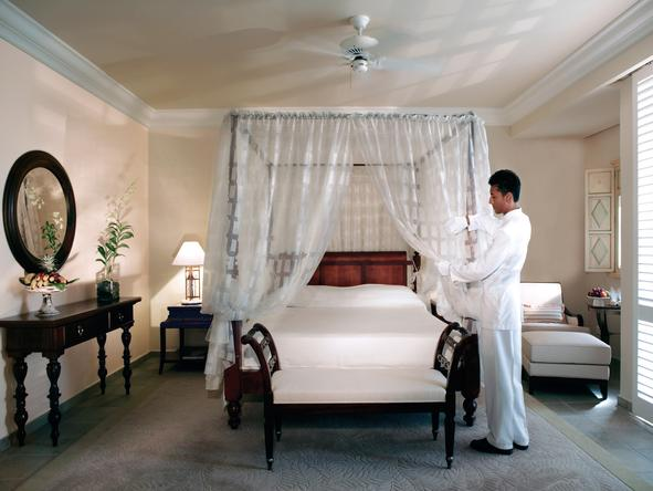 The Residence Mauritius - exceptional service