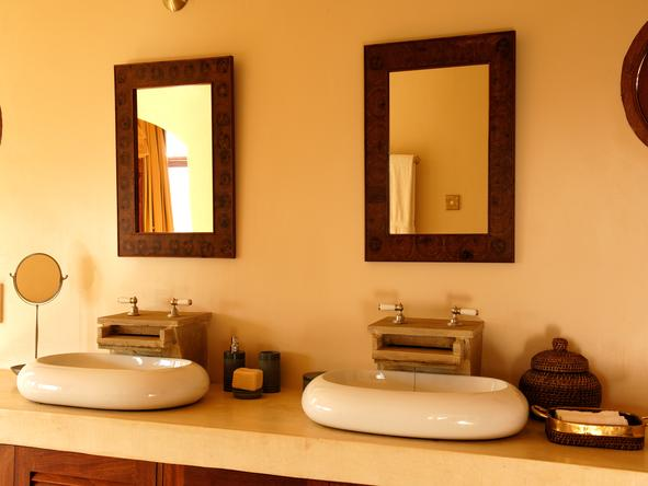 The Sanctuary at Ol Lentille - bathroom