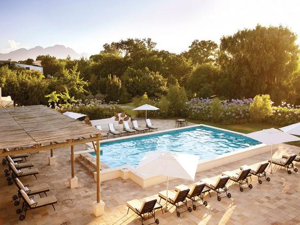 The Spier Hotel - pool