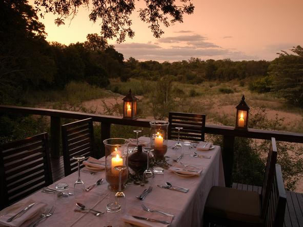 Thornybush Main Lodge - Dining