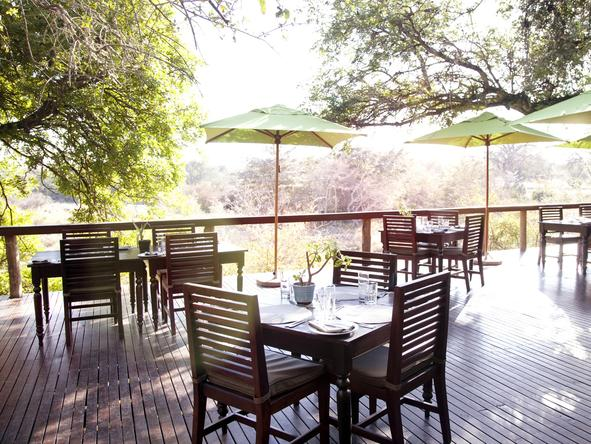 Thornybush Main Lodge - Deck