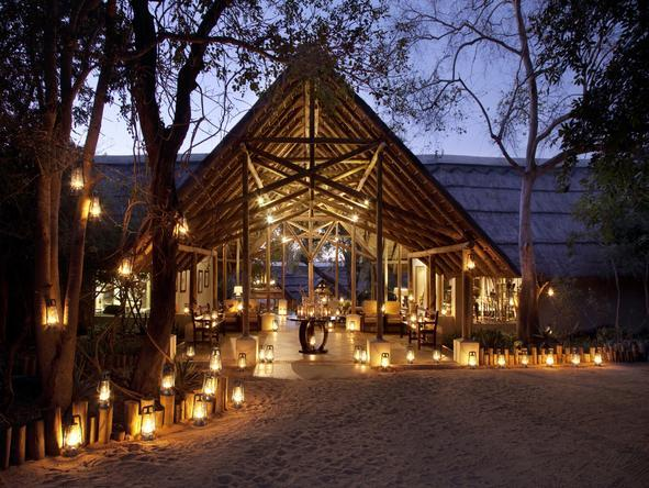 Thornybush Main Lodge - Exterior View