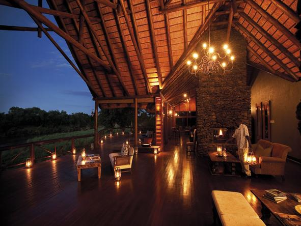 Tinga Narina Lodge - lodge deck