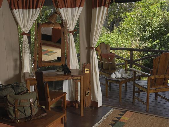 Tipilikwani Mara Camp - Private Deck