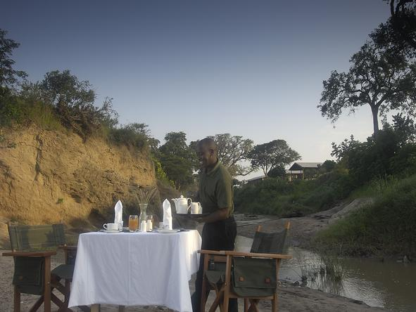 Tipilikwani Mara Camp - Bush Dining