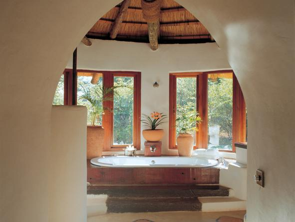 Tongabezi Lodge - river cottage bathroom