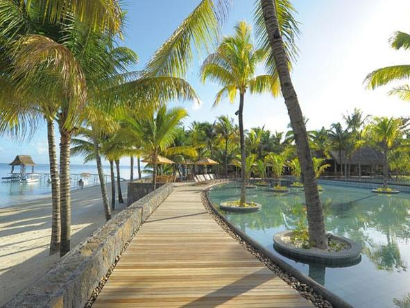 Trou aux Biches Hotel -Beach Access