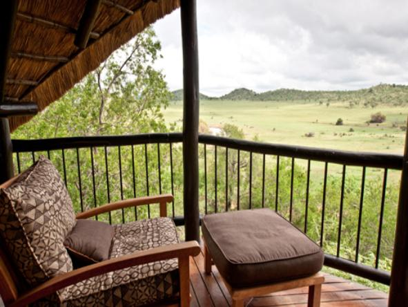 Tshukudu - private balcony