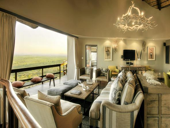 Ulusaba Cliff Lodge - Lounge