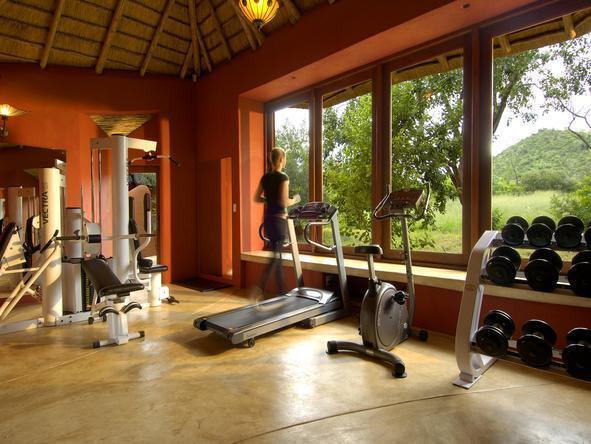 Ulusaba Cliff Lodge - Gym