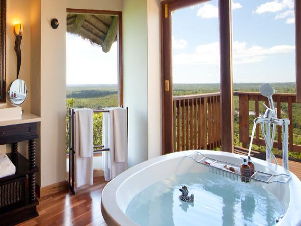 Ulusaba Cliff Lodge - Bathroom