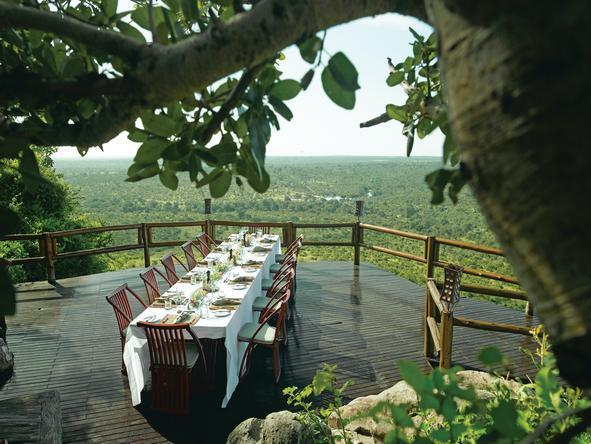 Ulusaba Rock Lodge - Dining