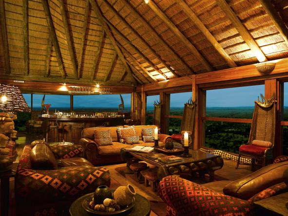 Ulusaba Rock Lodge - Lounge