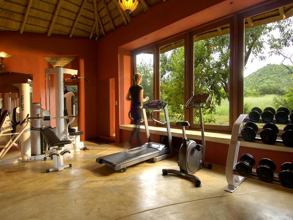 Ulusaba Rock Lodge - Gym