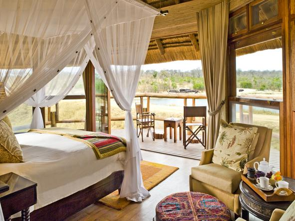 Ulusaba Safari Lodge - Bedroom1