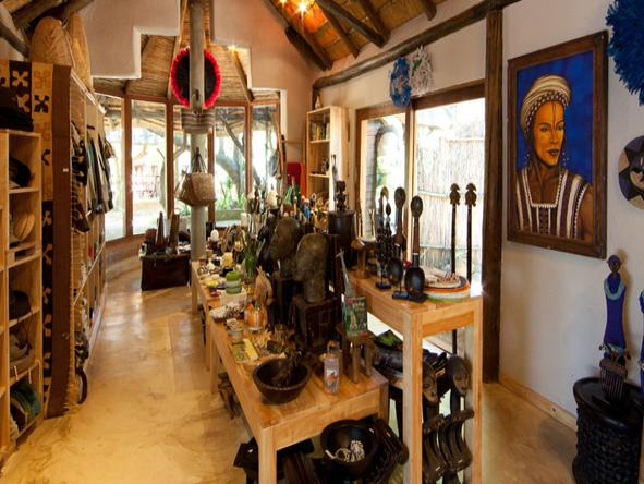 Ulusaba Safari Lodge - Curio Shop