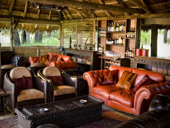 Xakanaxa Camp - Lounge