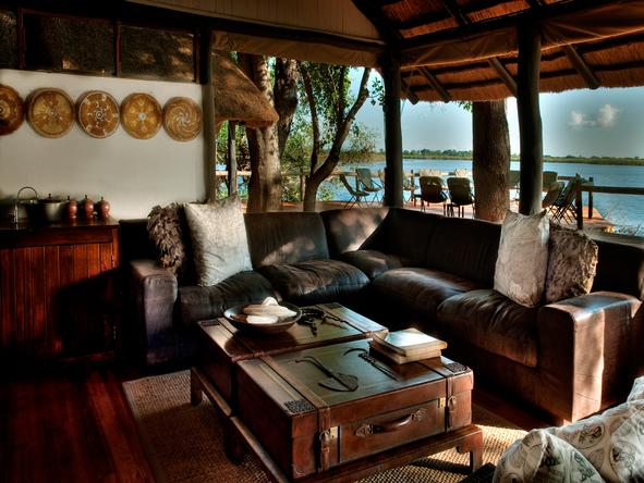 Xugana Island Lodge - Lounge